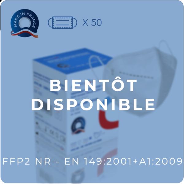 Masque FFP2 NR - Sans Soupape - Masques de protection jetables Français