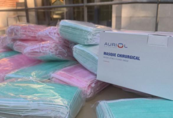 Distribution de masques chirurgicaux aux étudiants en situation précaire à l'université Toulouse Capitole 1